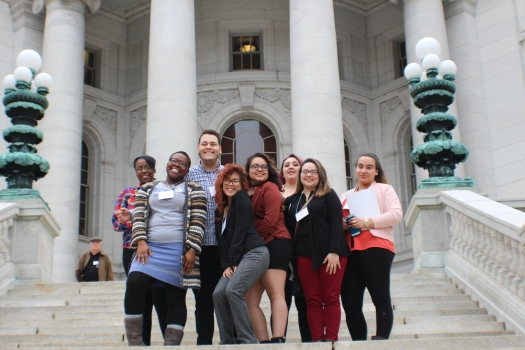 Students Day on Capitol Steps