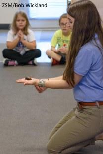 Martinson teaching class