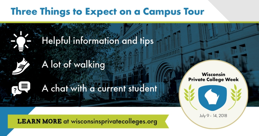 Campus tour infographic